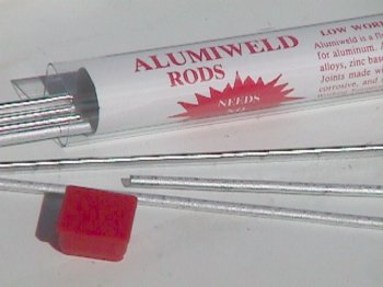 AlumiWeld repair rods
